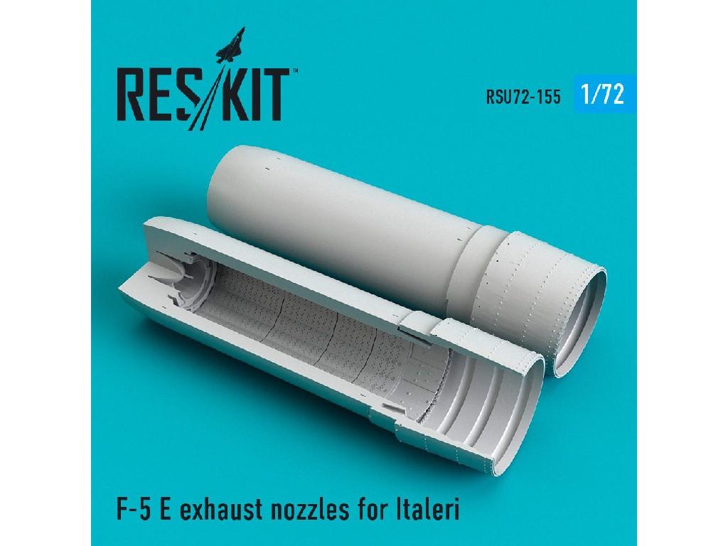 1/72 F-5 E exhaust nozzles for Italeri