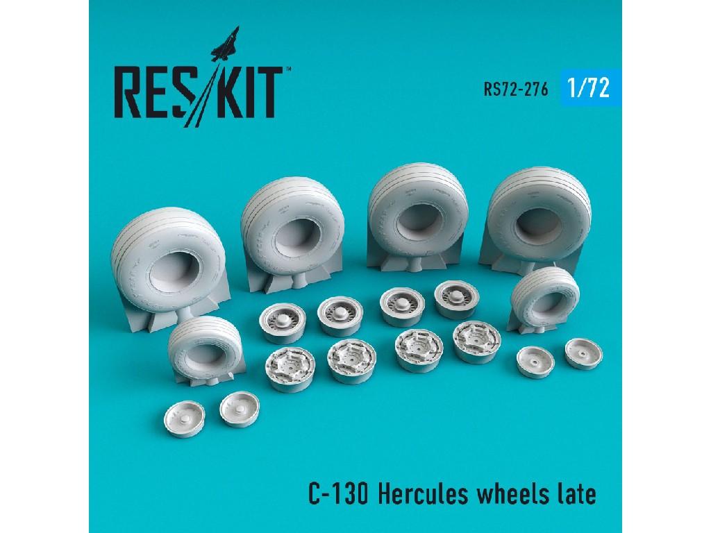1/72 C-130 Hercules wheels late