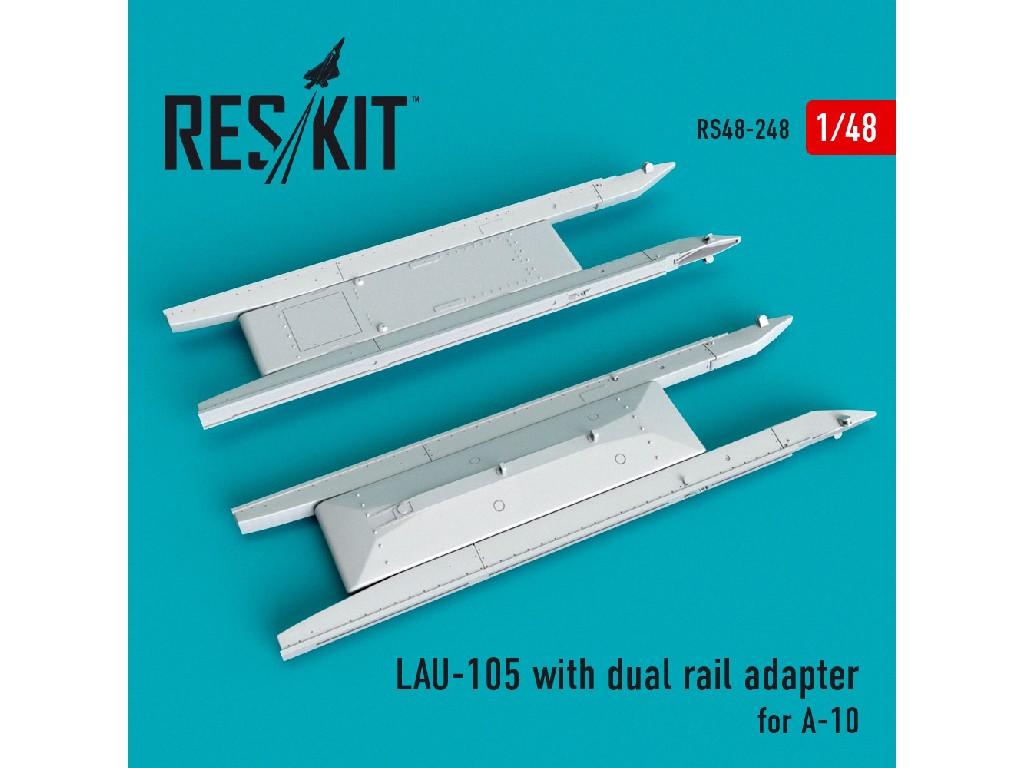 1/48 LAU- 105 launcher (2 PCS) A-10