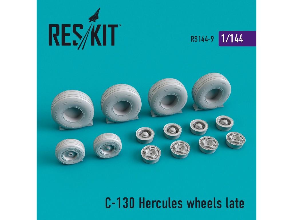 1/144 C-130 Hercules wheels late