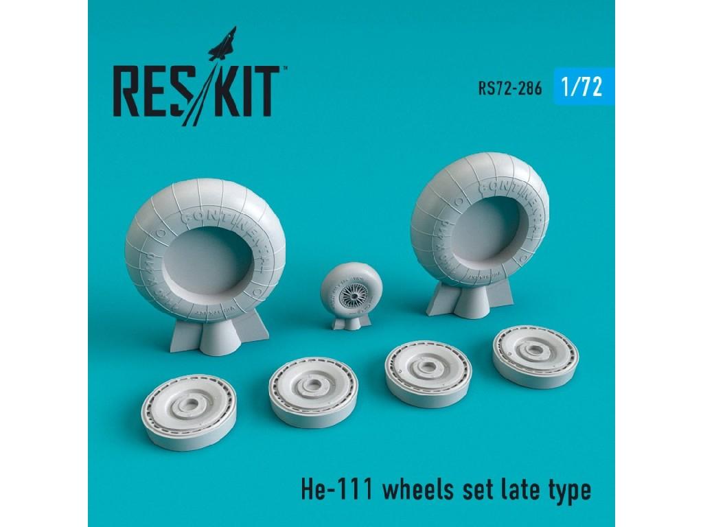 1/72 He-111 wheels set late type