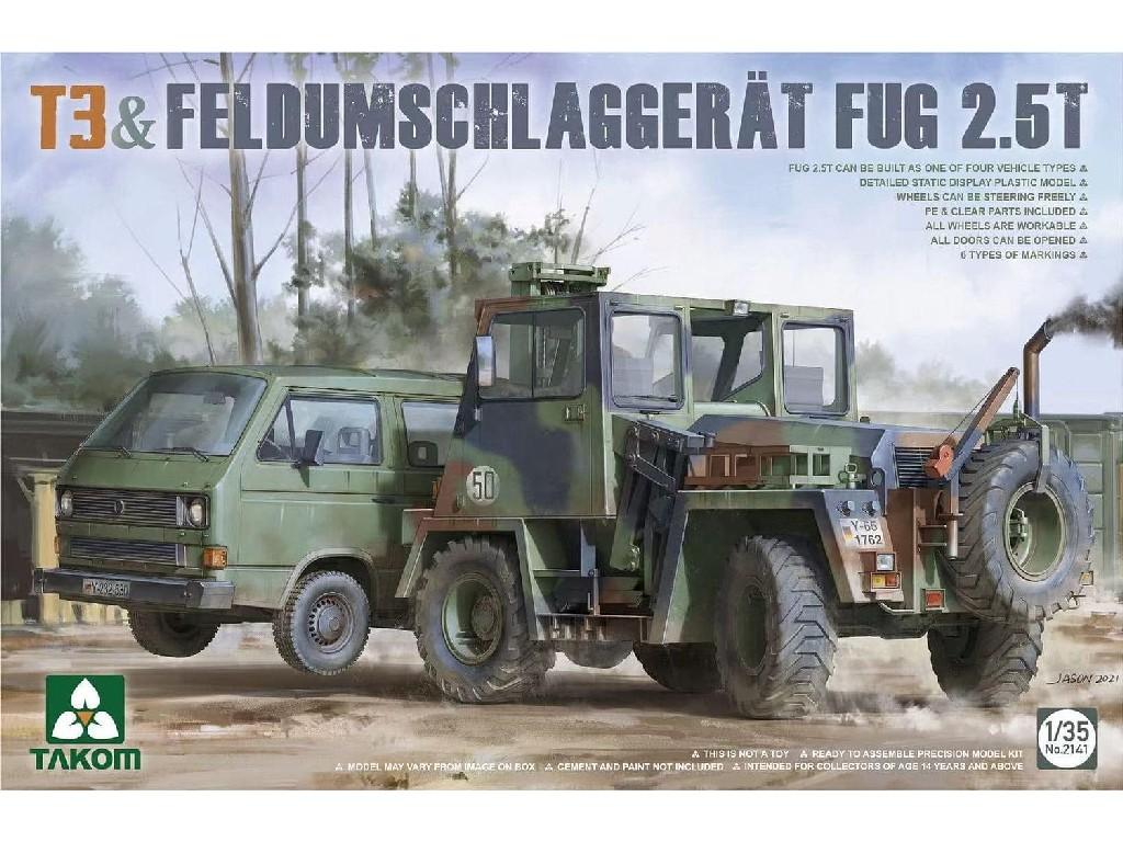 1/35 T3 + Feldumschlaggerat Fug 2.5t - Takom