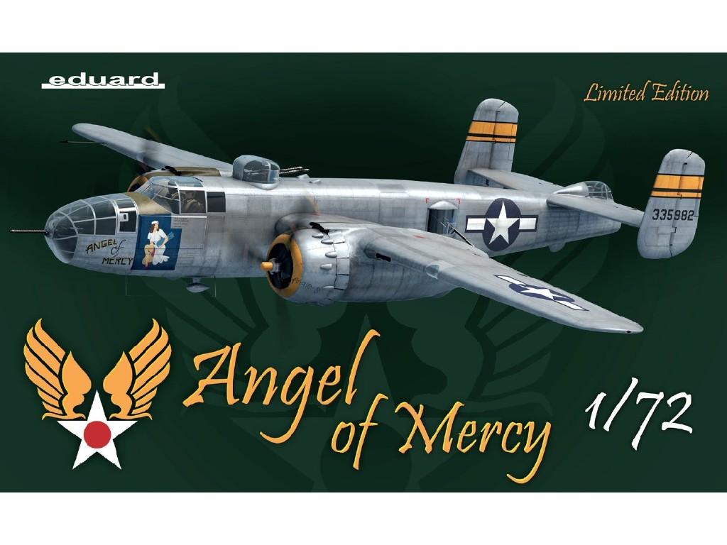 1/72 B-25J Mitchell - ANGEL OF MERCY - Eduard Limited edition