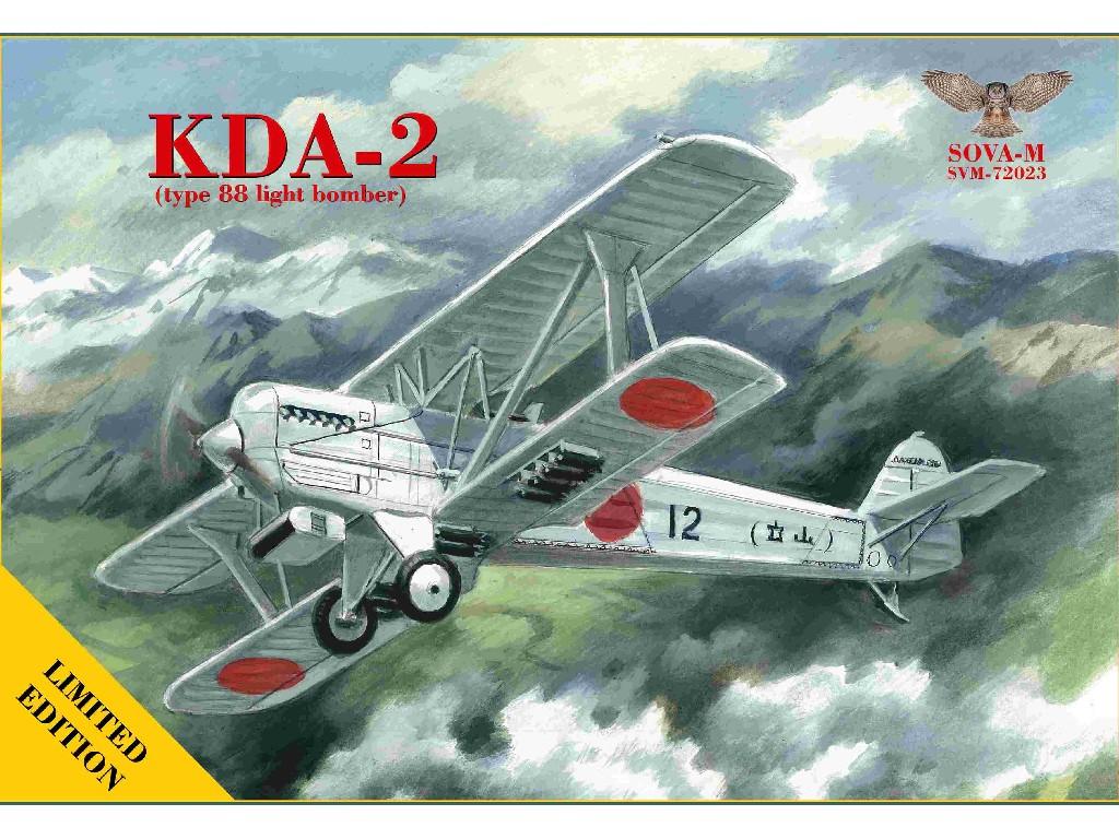 1/72 KDA-2 type 88 light bomber