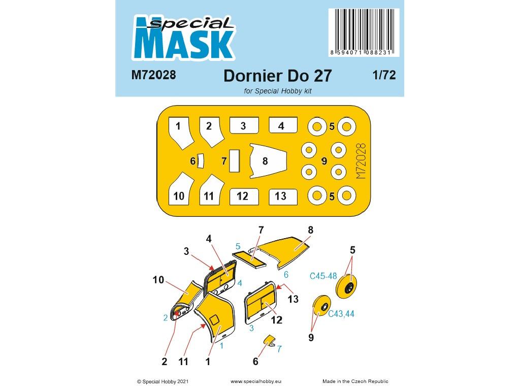 1/72 Dornier Do.27 Mask