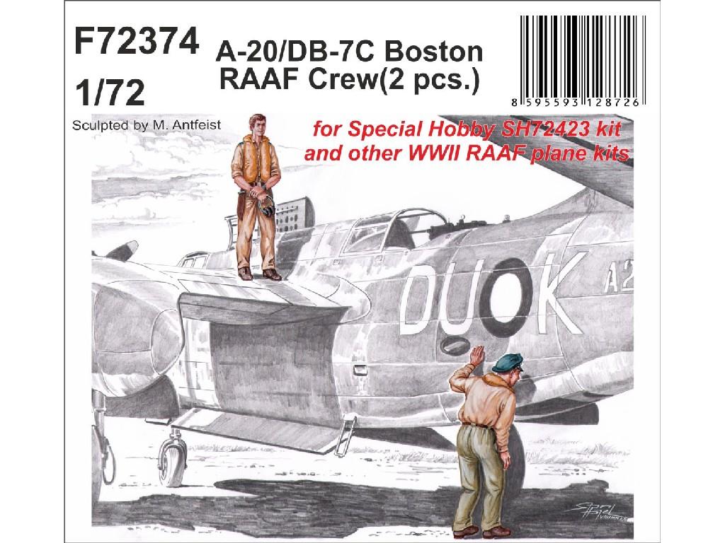 1/72 A-20/DB-7C Boston RAAF Crew