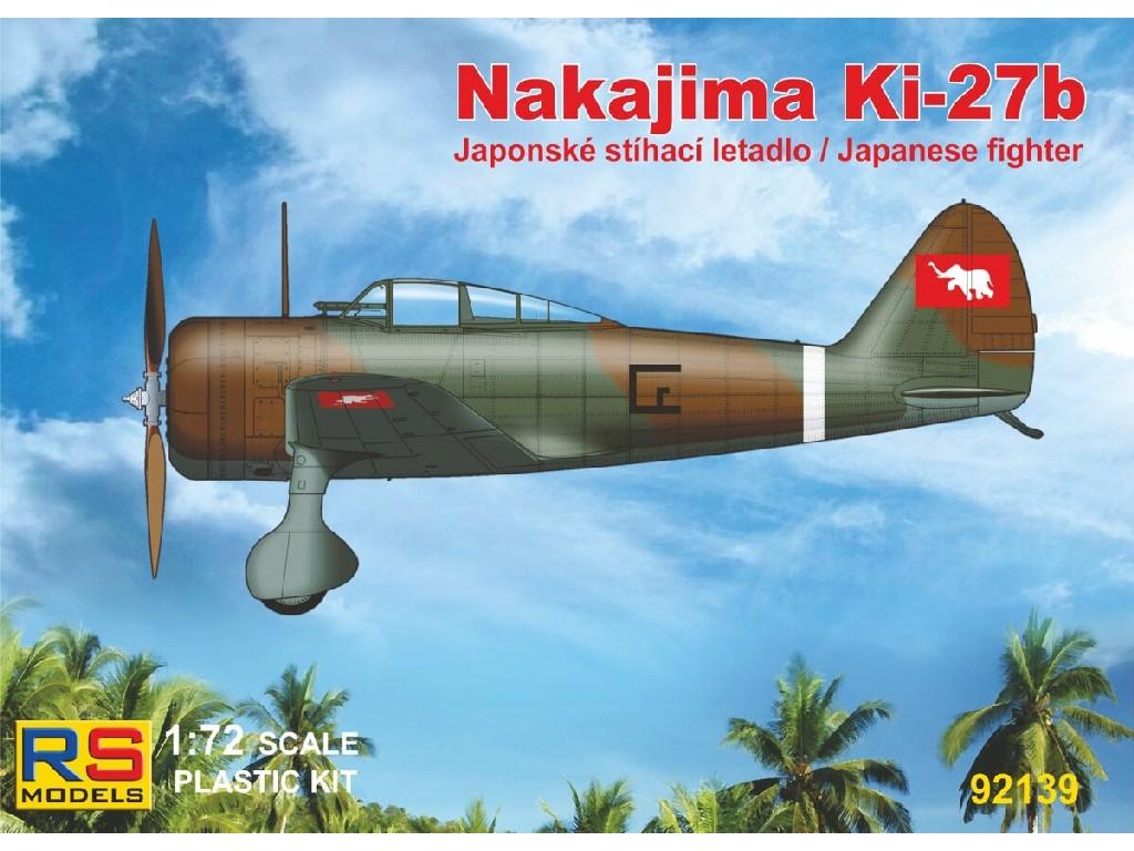 1/72 Ki-27 Thai 3 decal v. for Thailand, China