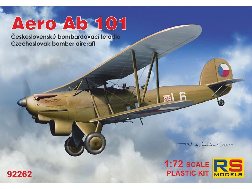1/72 Aero Ab-101 5 decal v. for Czechslovakia, Luftwaffe