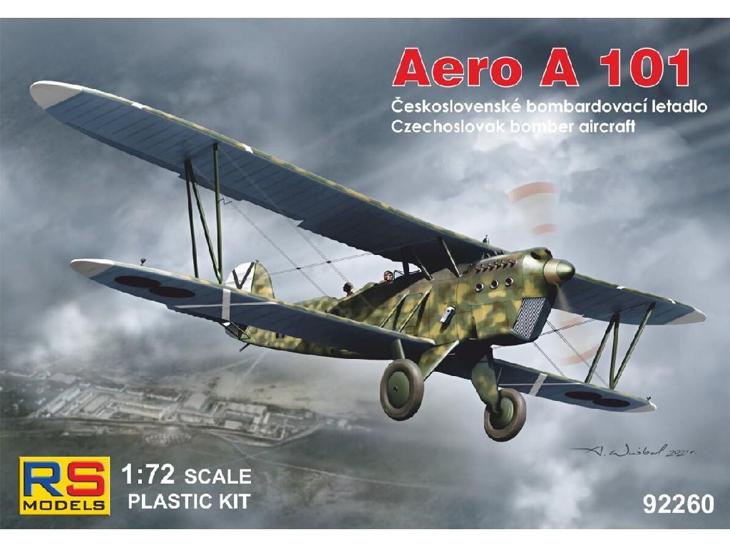 1/72 Aero A-101 5 decal v. for Czechslovakia, Spain