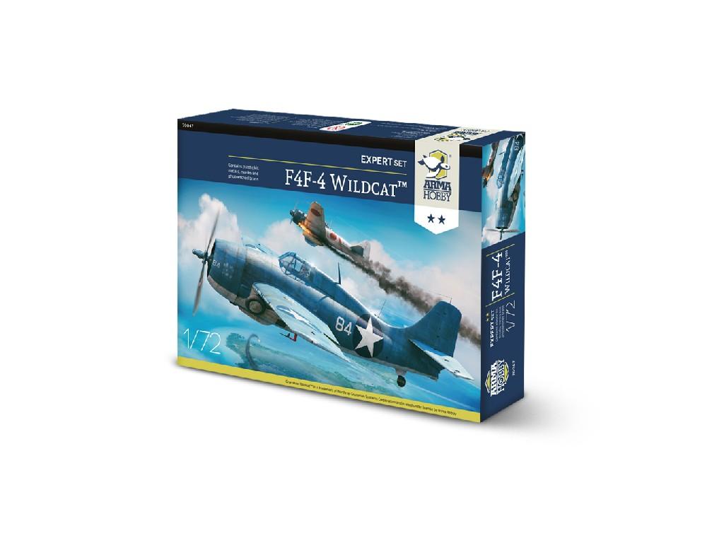 1/72 F4F-4 Wildcat Expert Set - Arma Hobby