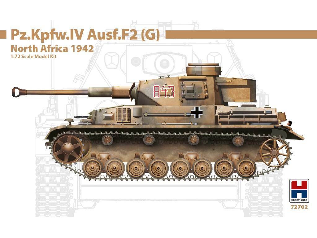 1/72Pz.Kpfw.IV Ausf.F2 (G) North Africa 1942 - DRAGON + CARTOGRAF