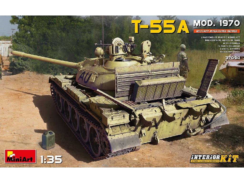 1/35 T-55A Mod. 1970 Interior Kit - Miniart