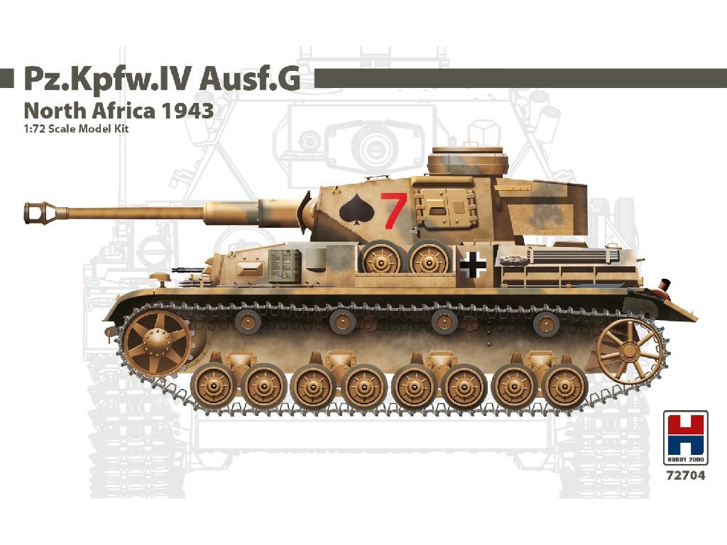 1/72 Pz.Kpfw.IV Ausf.G North Africa 1943 - DRAGON + CARTOGRAF