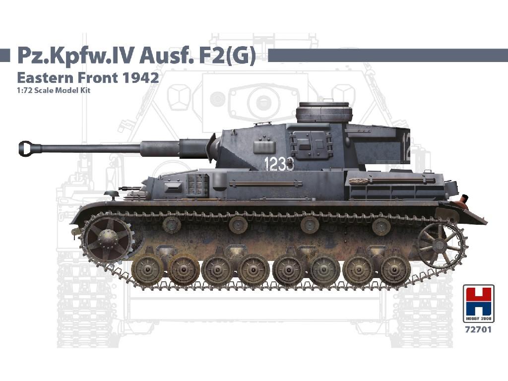 1/72Pz.Kpfw.IV Ausf.F2 (G) Eastern Front 1942 - DRAGON + CARTOGRAF