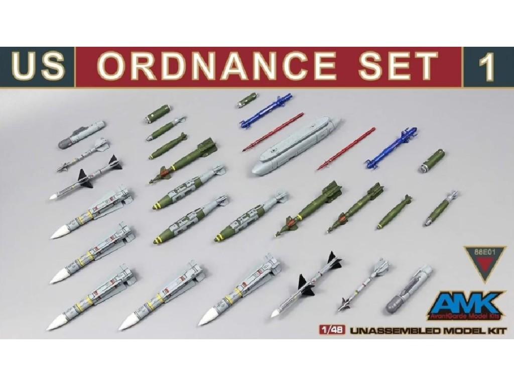 1/48 US Ordnance Set 1 - AMK