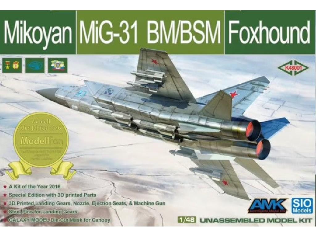 1/48 Mikoyan MiG-31 BM/BSM Foxhound - AMK