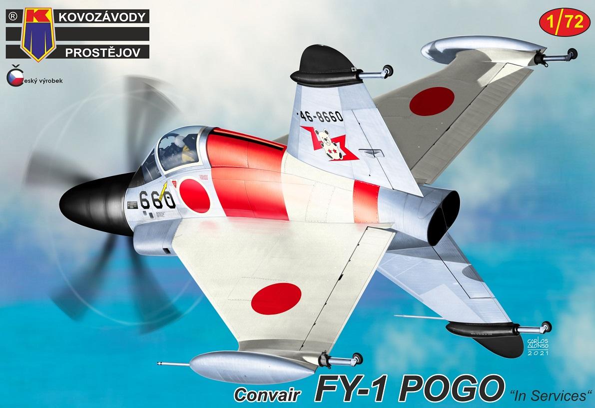 """1/72 Convair FY-1 Pogo """"In service"""""""