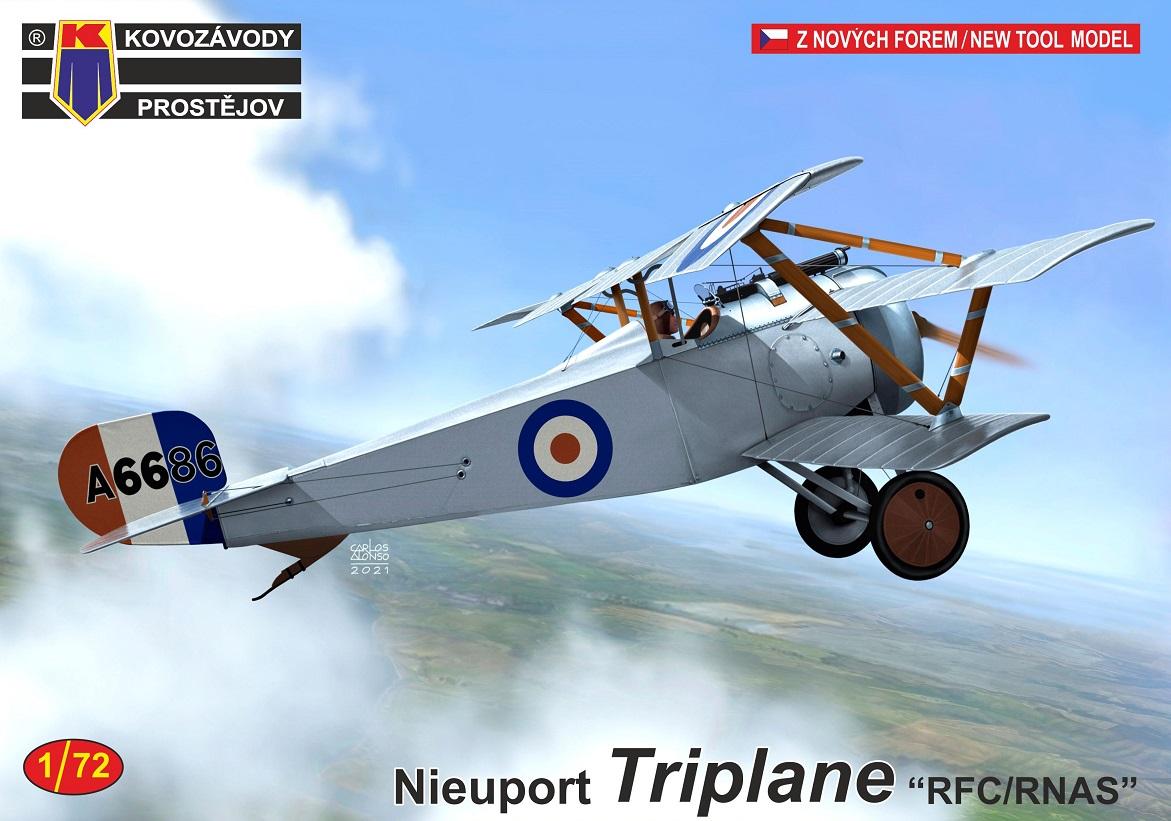 """1/72 Nieuport Triplane """"RFC/RNAS"""""""