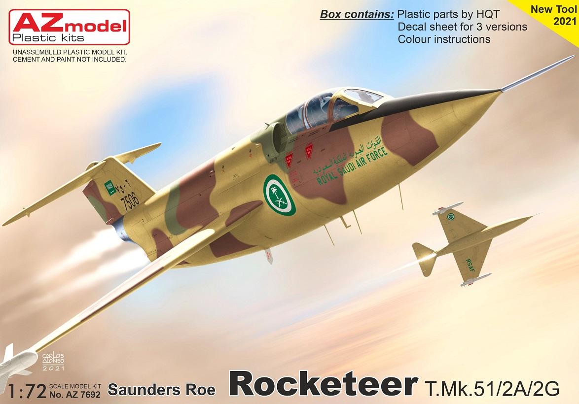 1/72 Rocketeer T.Mk.51/2A/2G