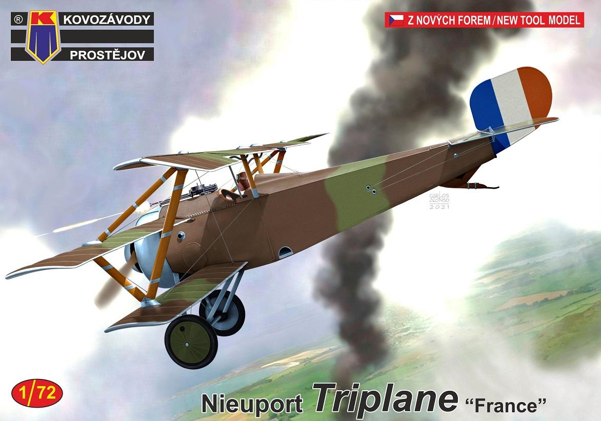 "1/72 Nieuport Triplane ""France"""
