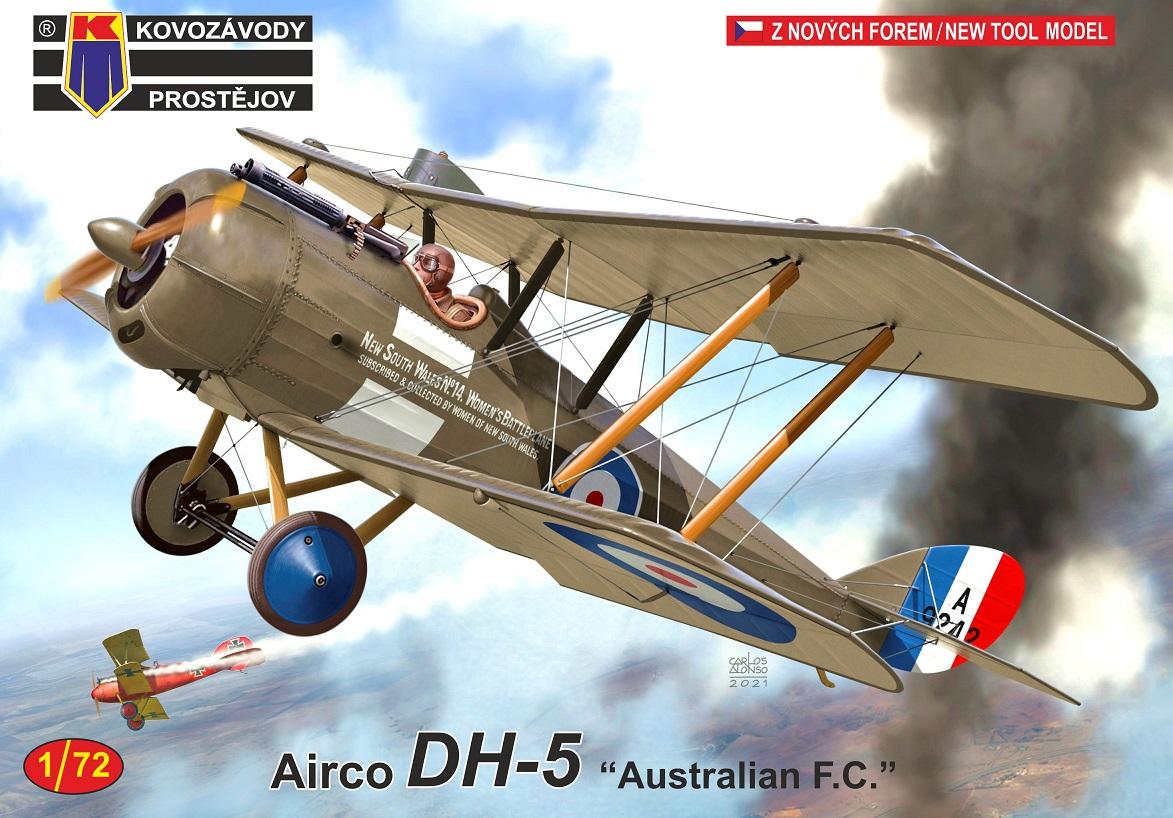 """1/72 Airo DH-5 """"Australian F.C."""