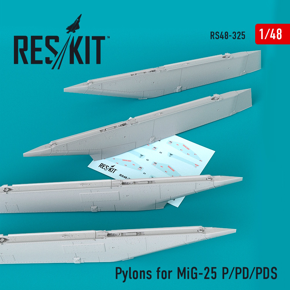 1/48 Pylons for MiG-25  P/PD/PDS