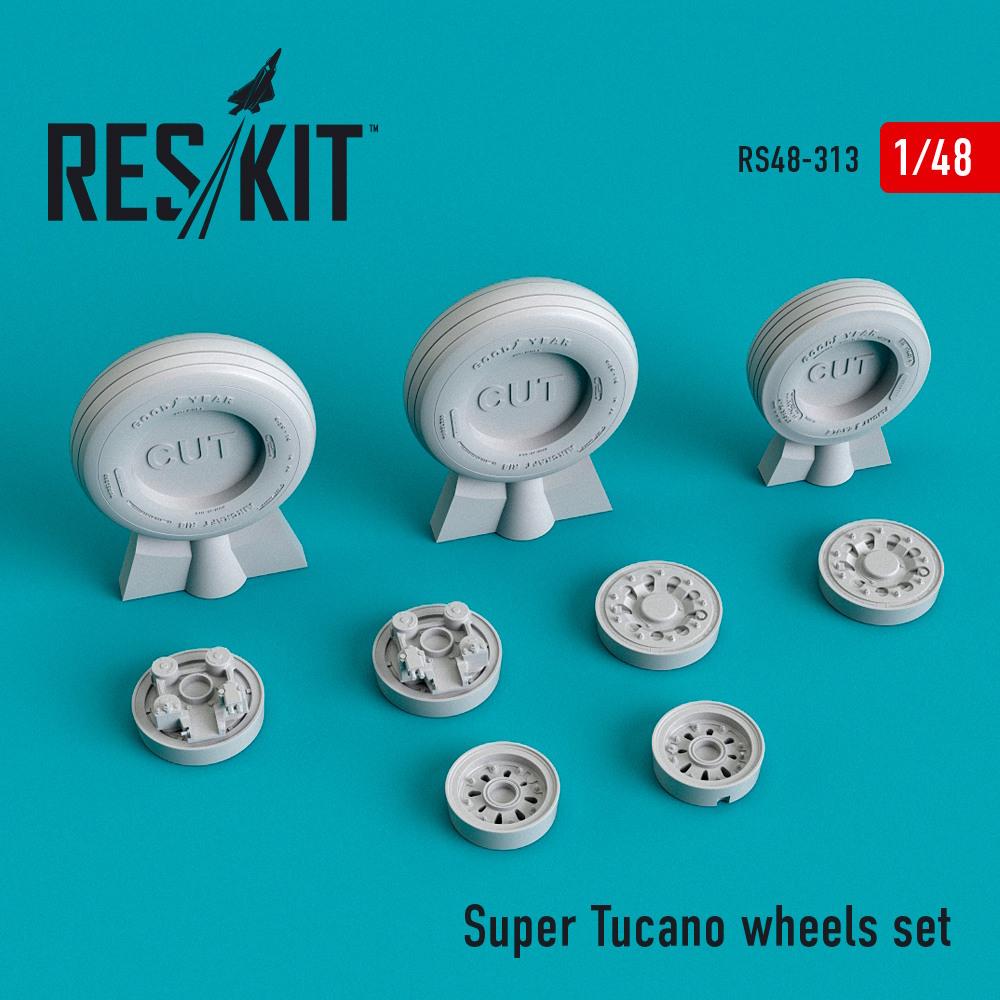 1/48 Super Tucano wheels set