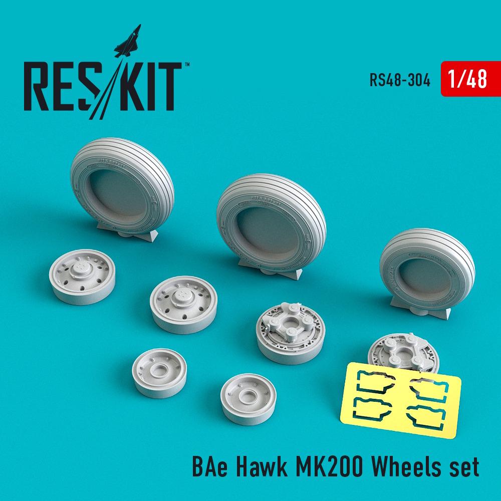 1/48 BAe Hawk MK200 Wheels set