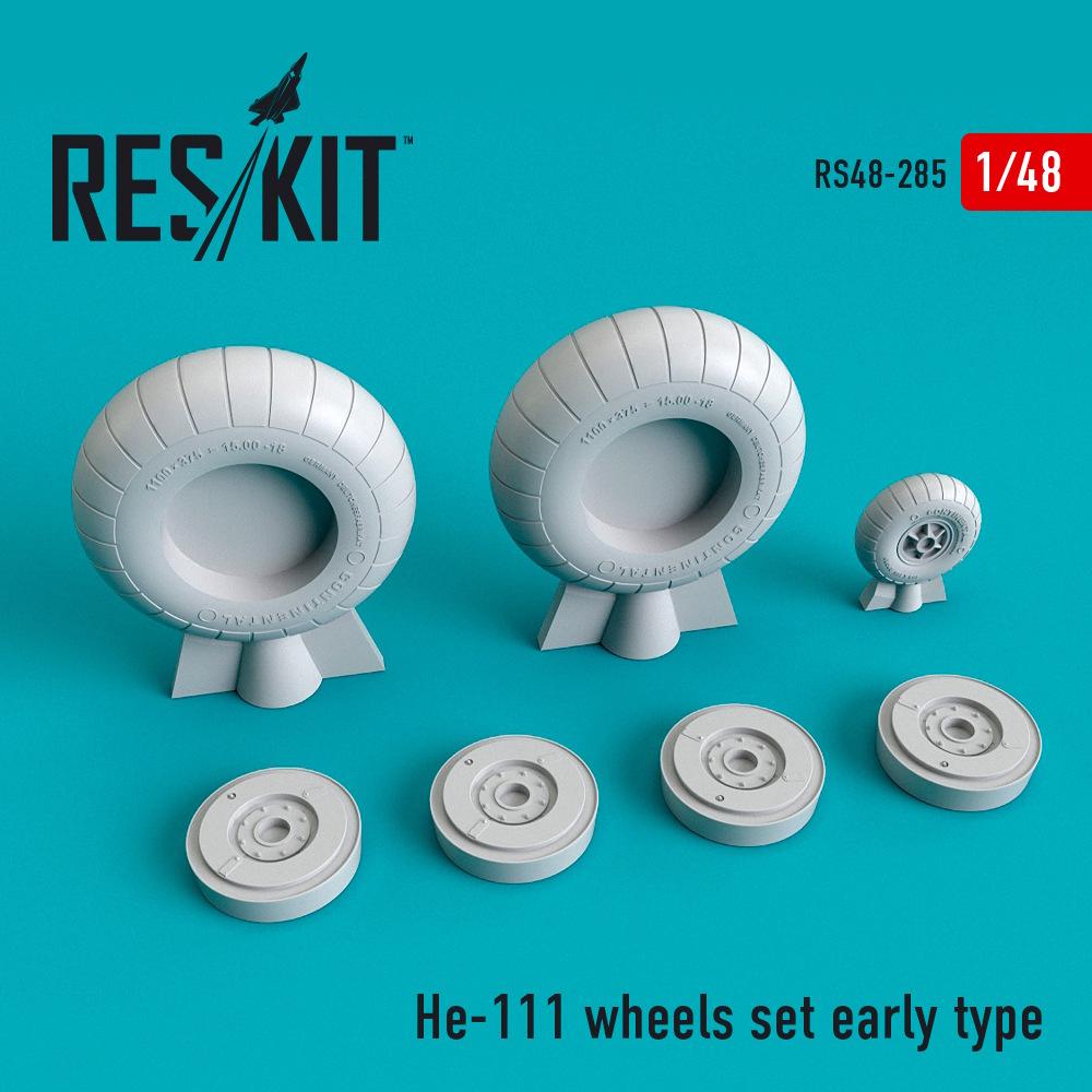1/48 He-111 wheels set early type