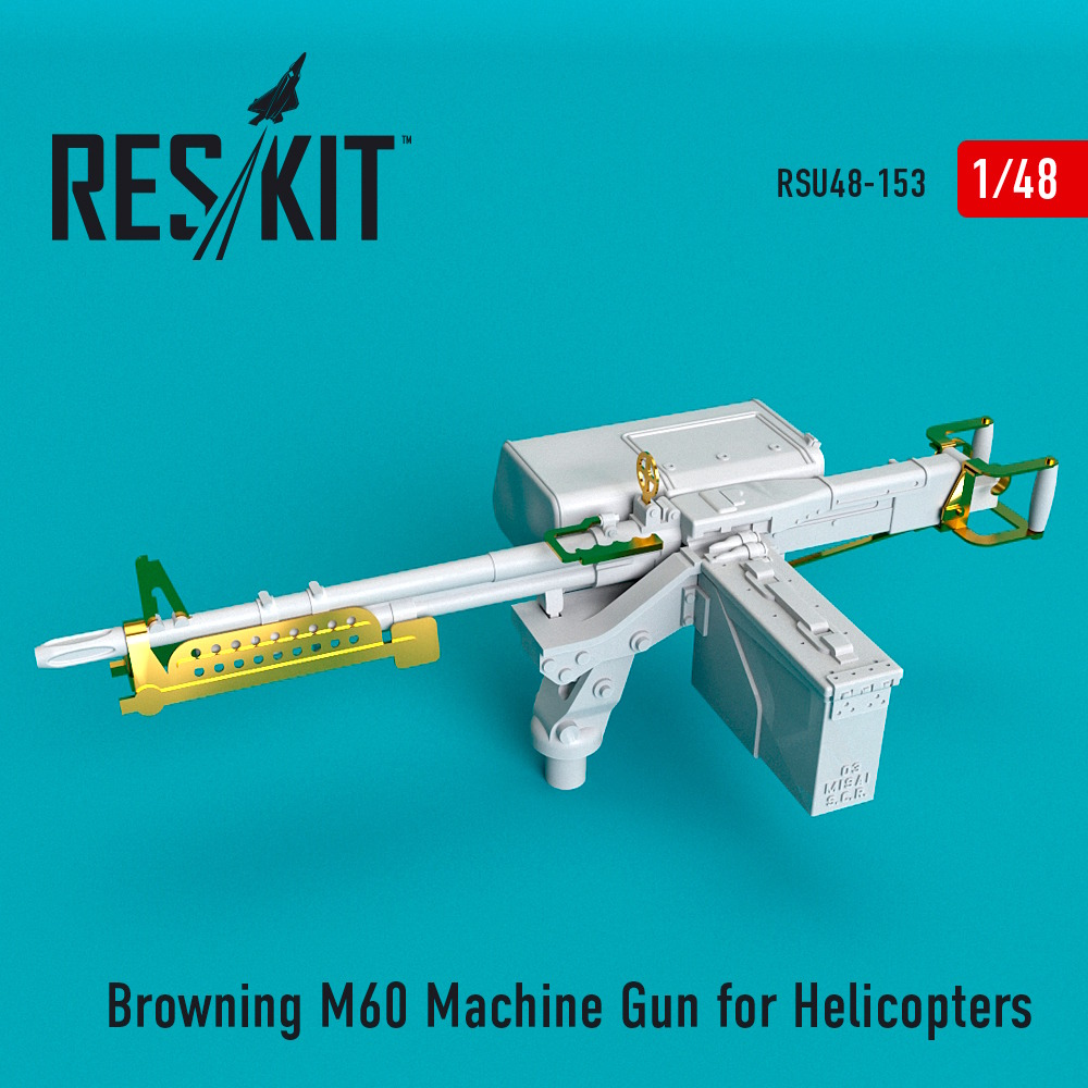 1/48 Browning M60 Machine Gun for Helicopters
