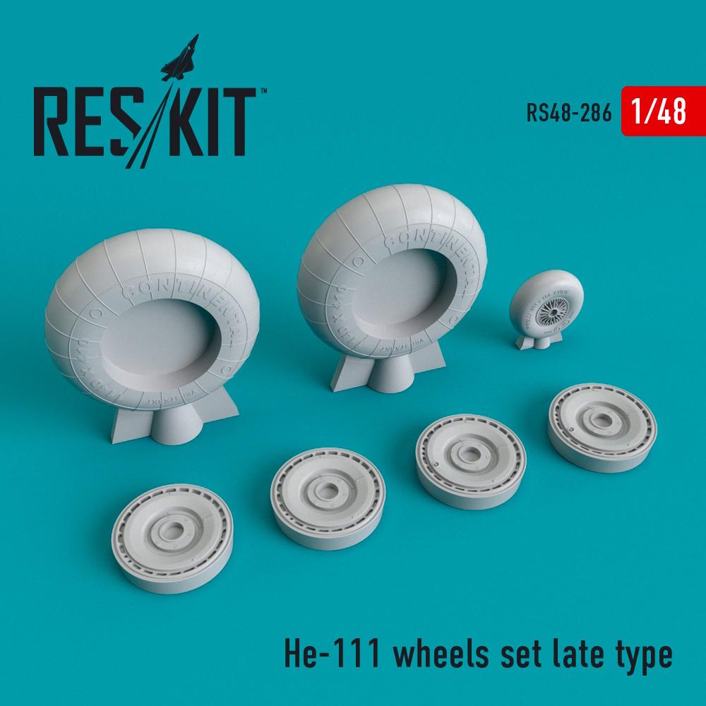 1/48 He-111 wheels set late type