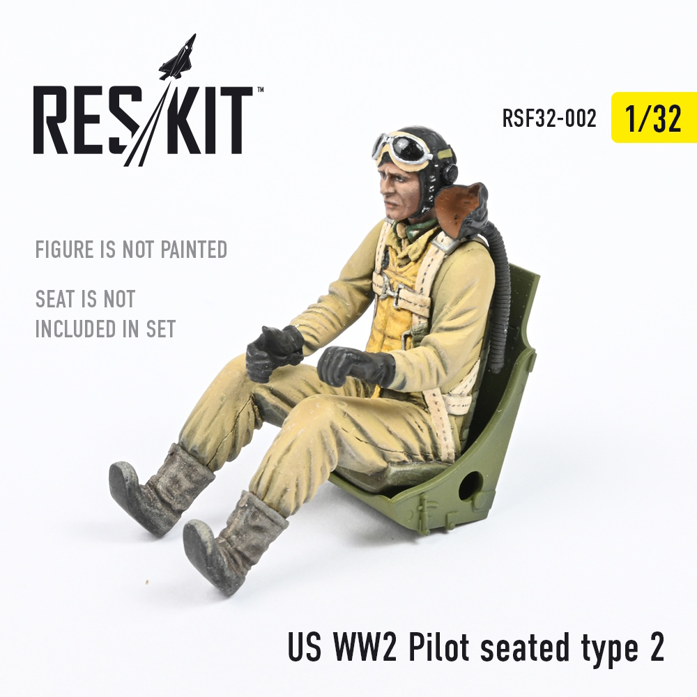 1/32 US WW2 Pilot seated type 2