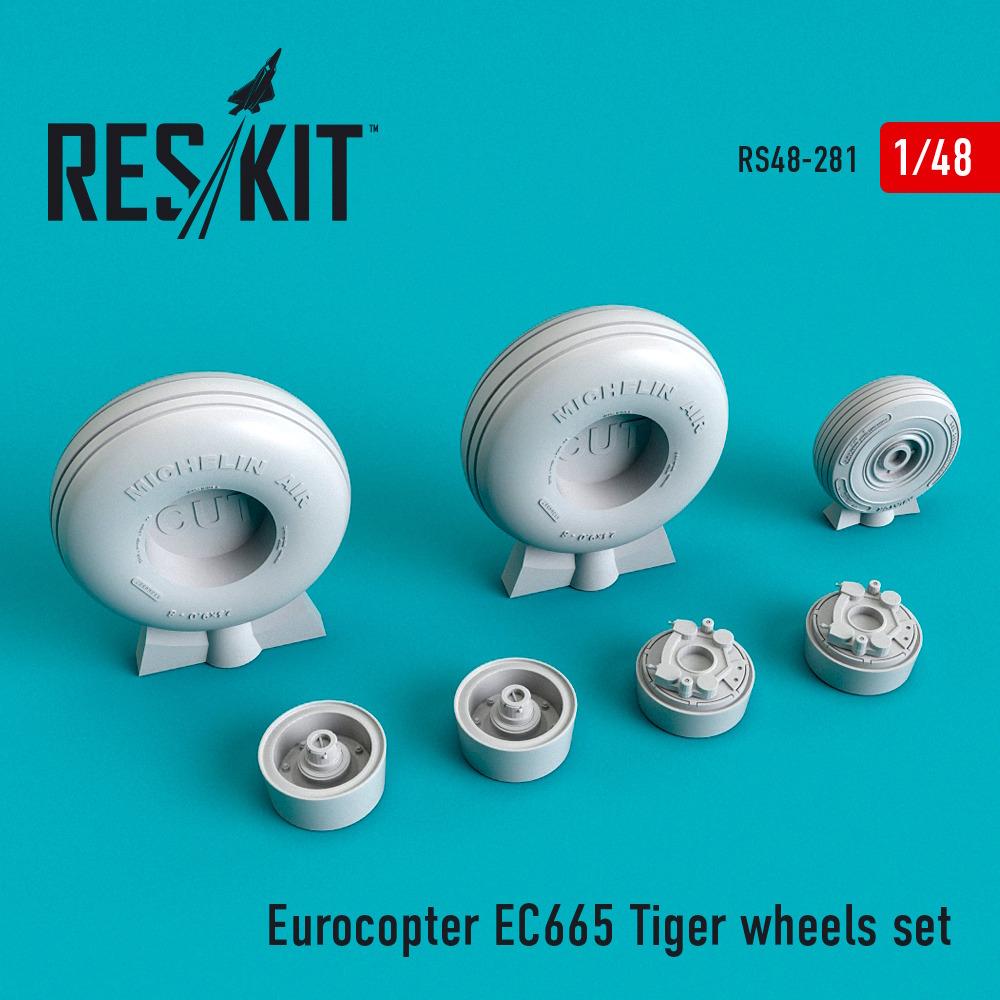 1/48 Eurocopter EC665 Tiger wheels set