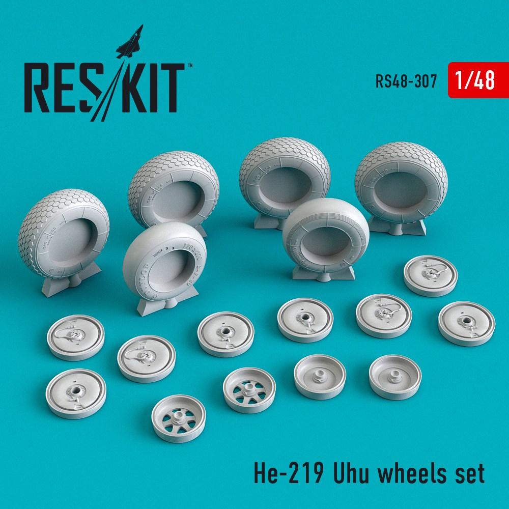 1/48 He-219 Uhu wheels set