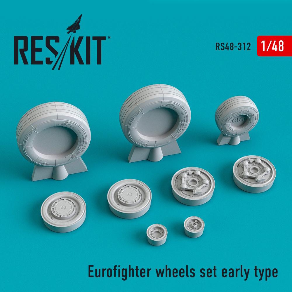 1/48 Eurofighter wheels Early Type