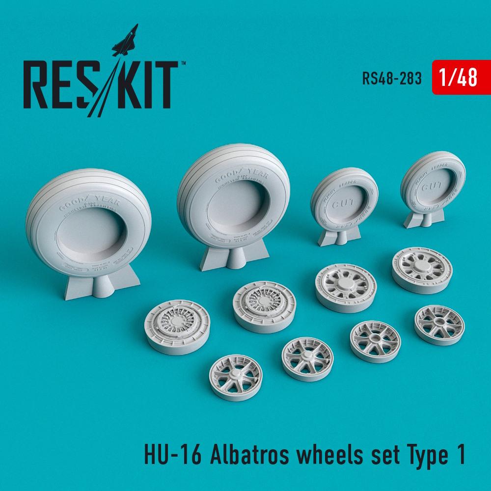 1/48 HU-16 Albatros wheels set Type 1