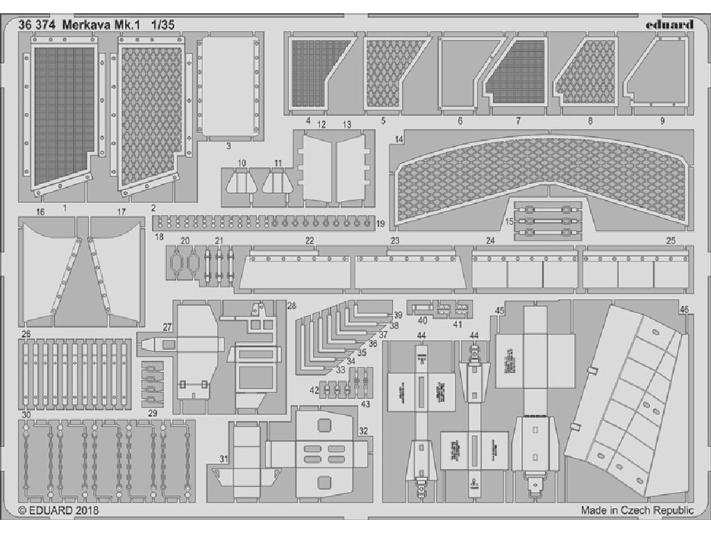 1/35 Merkava Mk.1 for TAKOM kit