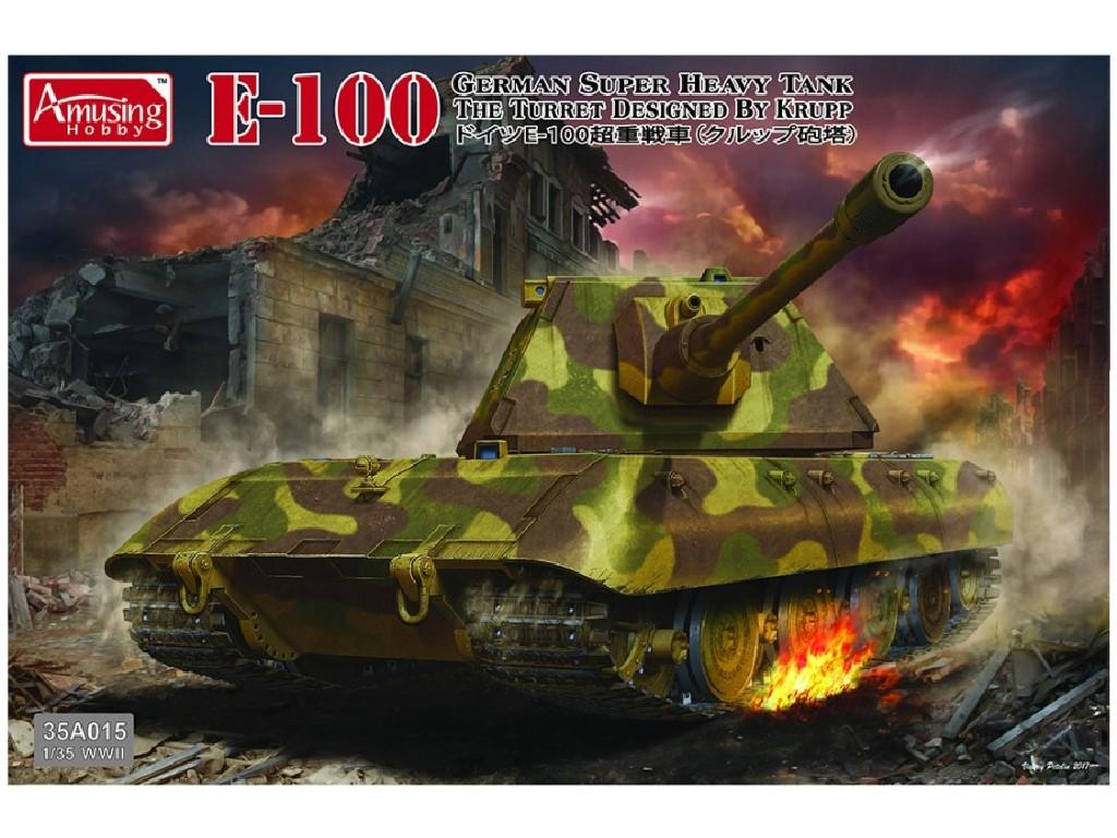 1/35 Superheavy Tank E-100 mit Krupp-Turm
