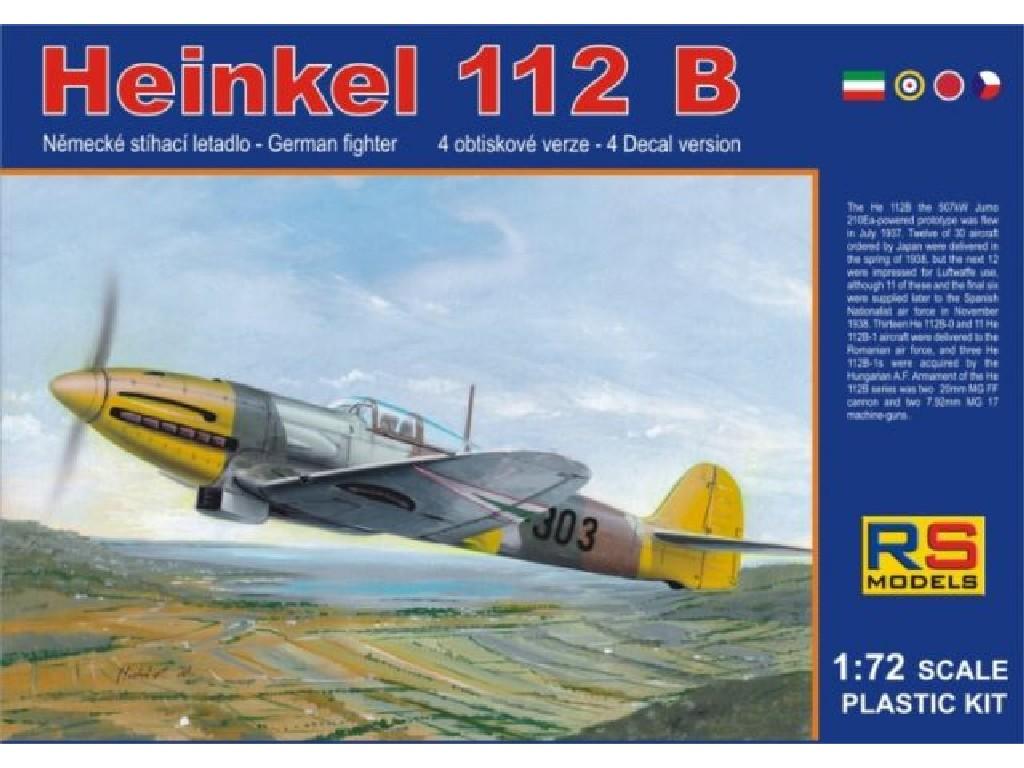 1/72 Heinkel 112 Hungary