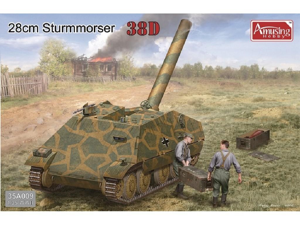 1/35 28cm Sturmmörser auf Panzer 38D