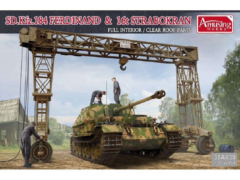 1/35 Sd.Kfz.184 Ferdinand + 16t Strabokran