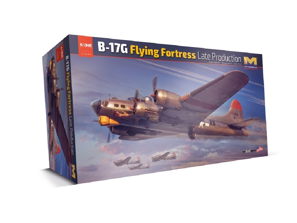 Hong Kong Models - 01E30 - B-17G Flying Fortress - Late Production 1:32