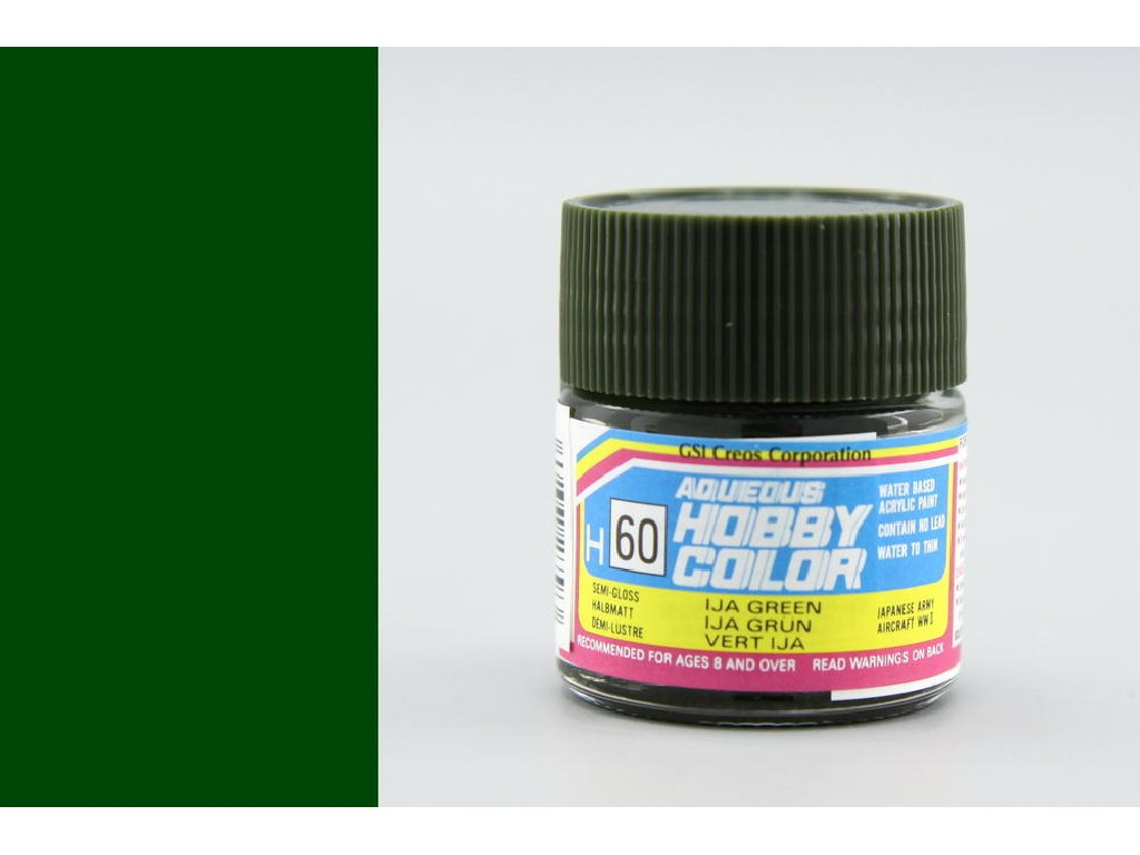 Mr. Hobby - Aqueous - H060 - IJA Green - IJA Zelená 10ml