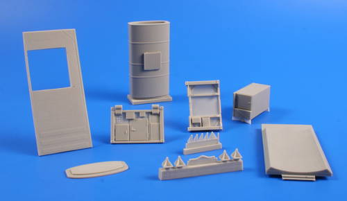 1/72 Multi Water Tank Container, 10 m3 – full resi