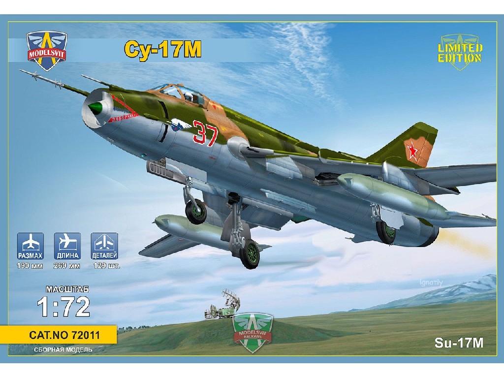 1/72 Sukhoi Su-17M Multirole fighter