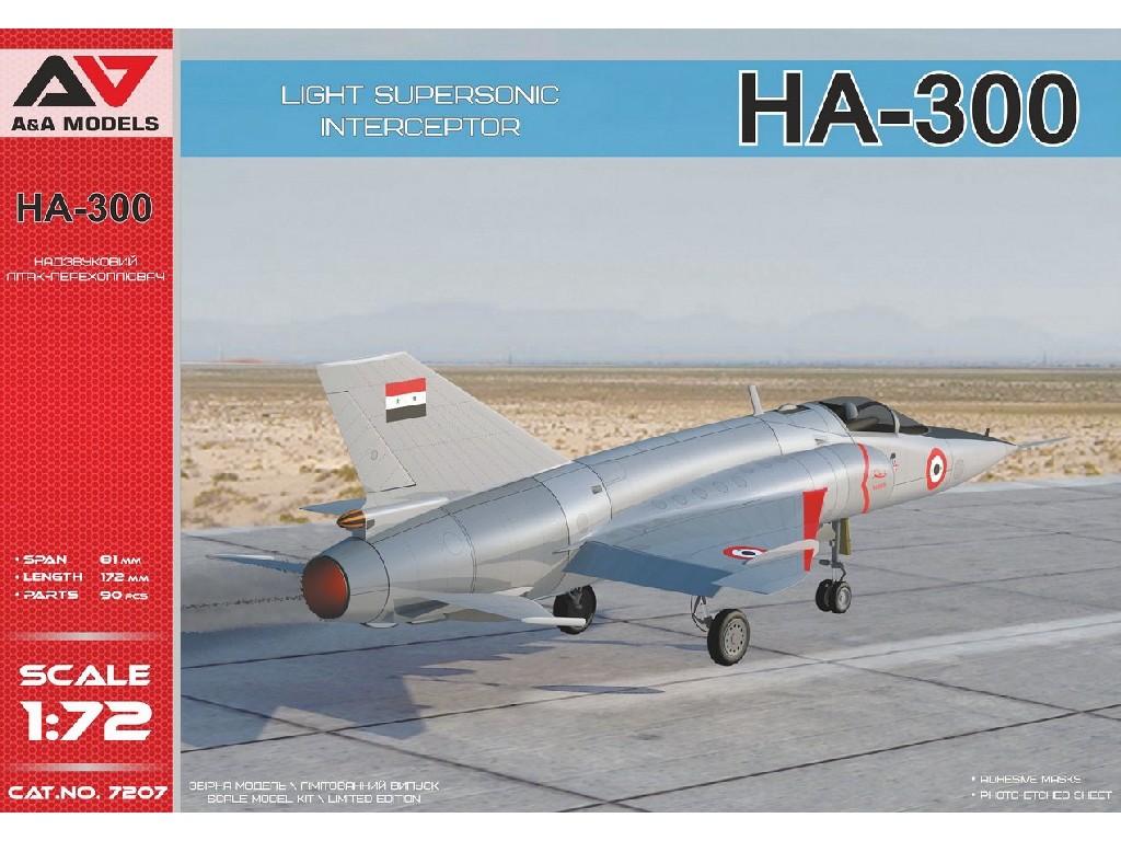 1/72 HA-300 Light interceptor
