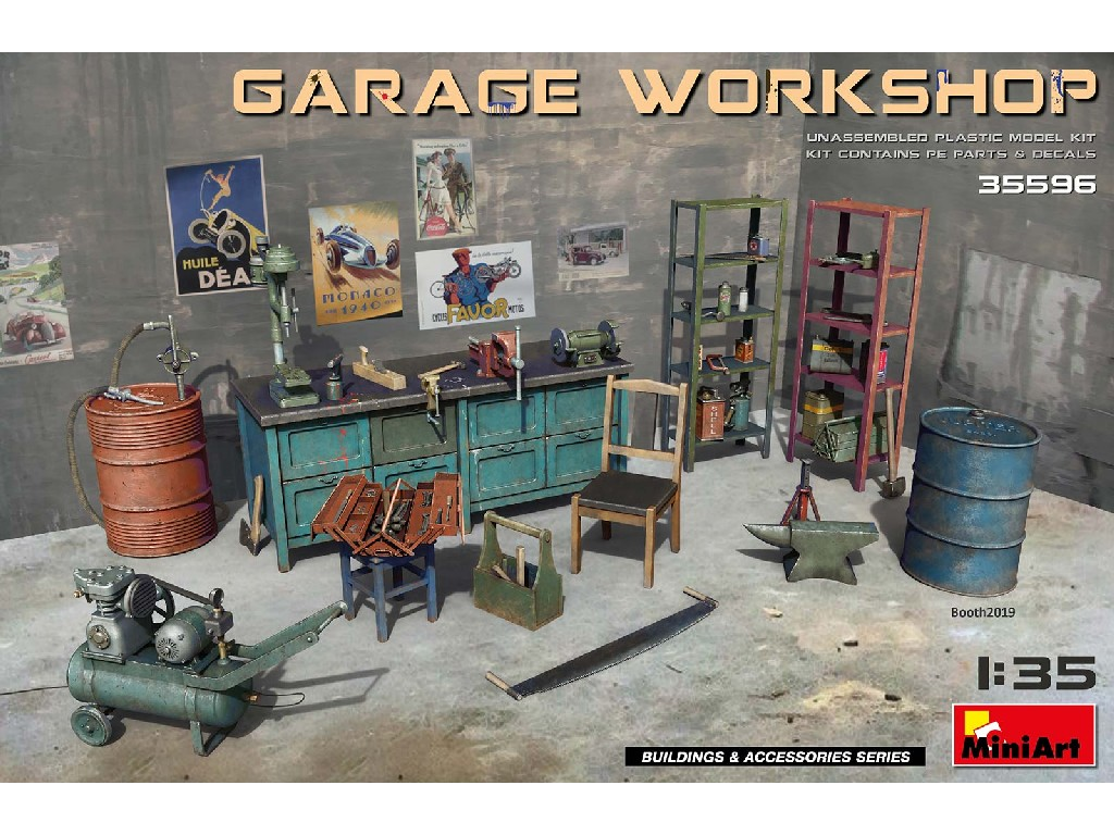 1/35 Garage Workshop