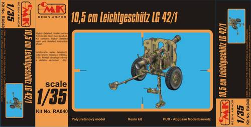 1/35 10,5cm Leichtgeschutz LG 42/1 Ful resinkit