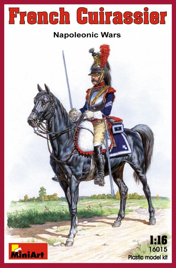 1/16 French Cuirassier. Napoleonic Wars.