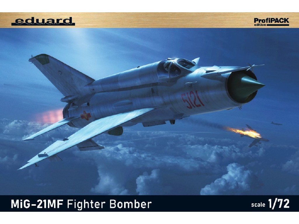 Eduard - 70142 - MiG-21MF Fighter-Bomber 1:72